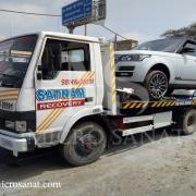 تاثیر جرثقیل بعد از تصادف